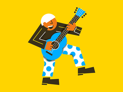 K for #36daysoftype dancer dancing style music oldman elvis fun guitarrist guitar k lettter