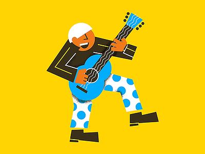K for #36daysoftype dancer dancing style music oldman elvis fun guitarrist guitar k lettter