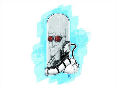Mr Freeze Art