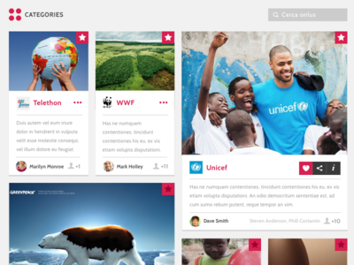 charity web app