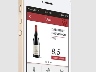 Wine app wine app ui ux iphone interface bottle ios store application design sketchapp