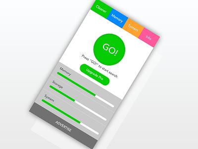 Task Killer App design android app app design task killer killer task