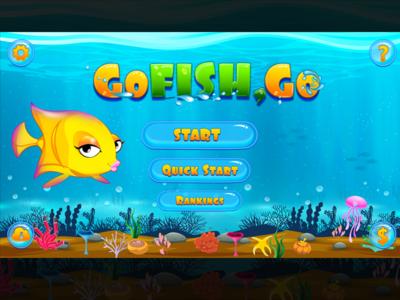 Go fish Go Game Graphics