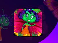 Girl Game Icon Design
