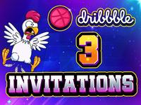 3 Dribble Invitations