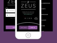 Zeus App Preview