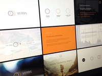 VERBS - Branding Board