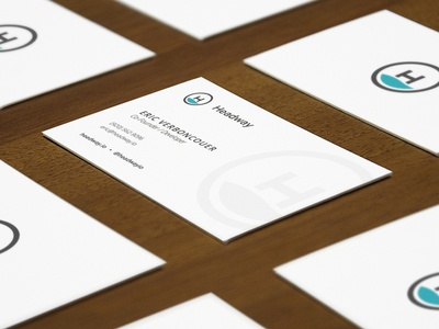 Headway Business Cards