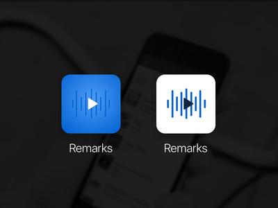 Remarks Icon - Left vs Right?