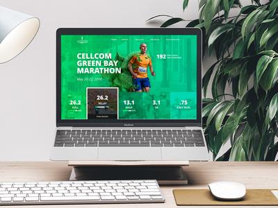 Cellcom Marathon Website