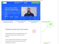 New Product Masterclass Website