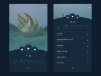 Daily UI Challenge #009 | Music Player