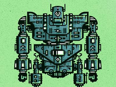 old robot eye android old texture bolt machine mechanic hand robot flat  design geometric