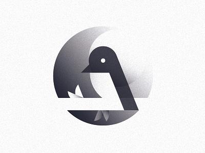 Logo 02   Prototype branch moon sun prototype texture bird logo geometric