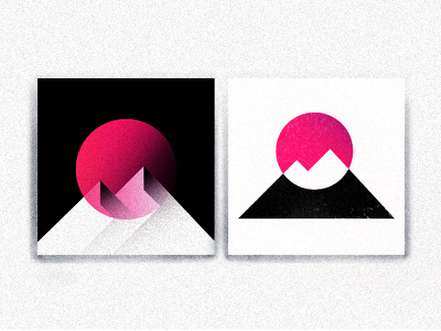 Logo 03   Summit stany prototype shapes logo sun summit mountain flat design geometric