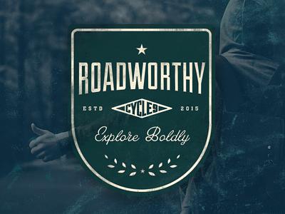 Roadworthy - Concept Brand vintage travel explore typography badge branding