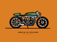 CB 750 - Cafe Racer - Wrenchmonkees