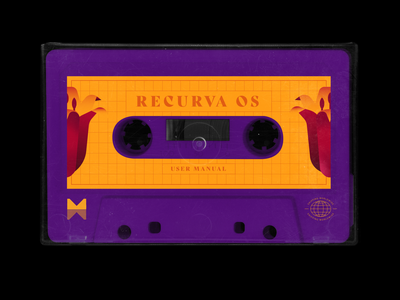 Recurva user manual cassette tape cassette package brand system operating os 90s