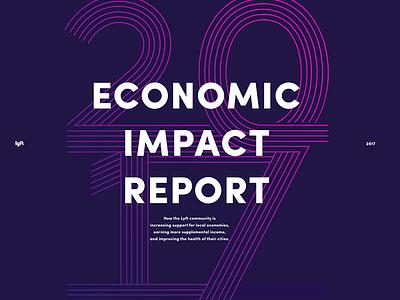 Economic Impact Cover graphicdesign creatives illustrator illustration type layout graphic design printisnotdead cover type typelovers