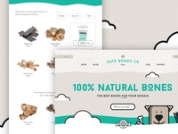 Safe Bones Co. Website Concept