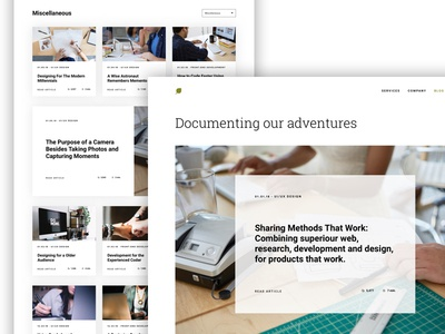Simple Blog Layout