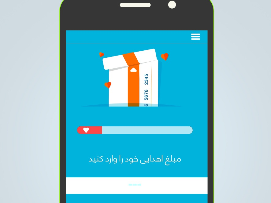 Charity Payment payment app ui card app illustration charity