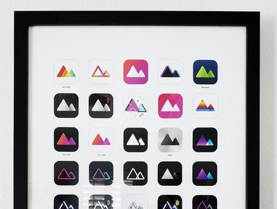 Celebrating 5 years of Darkroom frame poster darkroom app icons