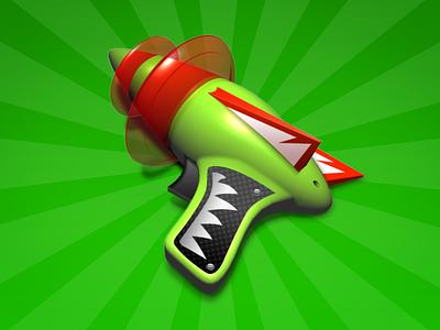 AppZapper uninstall icon mac handle hand gun laser ray gun appzapper