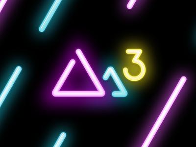 Darkroom 3.0 Branded Icon icon app neon darkroom