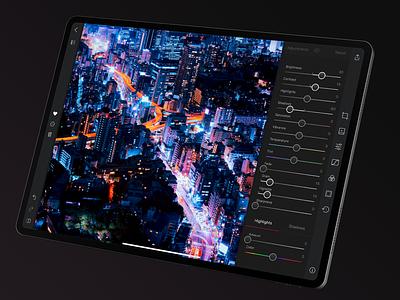 Darkroom 4 iPad photo editor ipad darkroom