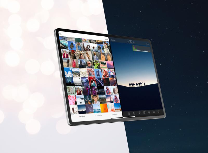 Darkroom 4.3 iPad OS ipados splitscreen light mode dark mode darkroom app