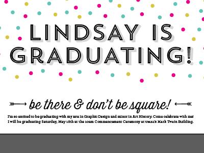 graduation! vector illustrator lindsay johnson graduation typography