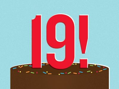 Birthday! cake illustration vector birthday lindsay johnson