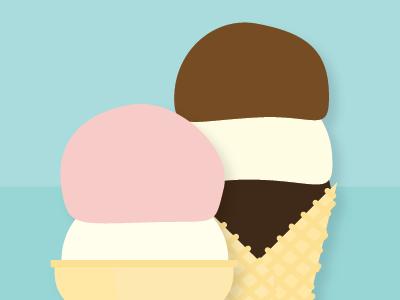 Ice Cream 2 illustration vector ice cream