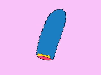 Severed Simpsons Series: Marge