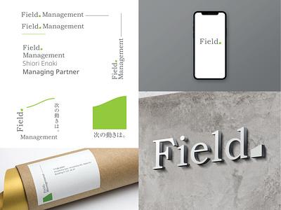 Field Management Identity japanese branding identity vector typography branding tokyo hiroshima logo design japan futurecommanddesignoffice