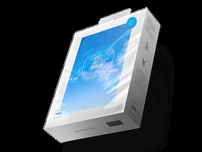 AiR SHIELD vector eyewear japan identity hiroshima logo branding design package design futurecommanddesignoffice