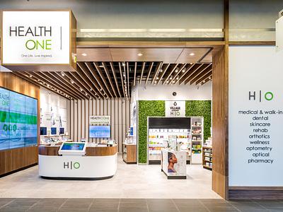 HEALTH   ONE Brand Development japan hiroshima futurecommanddesignoffice healthoneto healthone lifestyle health healthcare retail design branding