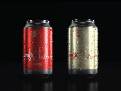 Carruthers Bros. Brewery Mirco Brewery Brand Development anodized can aluminum can alcohol alcohol branding drink beer label beer can can microbrew carruthersbrothersbrewery ontario beer canadian beer vanilla oak beer design japan package design futurecommanddesignoffice