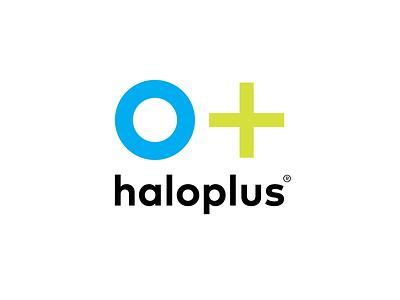 o+ haloplus®︎ JAPAN identity mark logoinspirations vector design hiroshima logo typography branding japan futurecommanddesignoffice