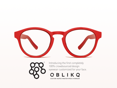OBLIKQ Eyewear rapid prototyping glasses eyewear branding logo handmade typography hiroshima design japan futurecommanddesignoffice