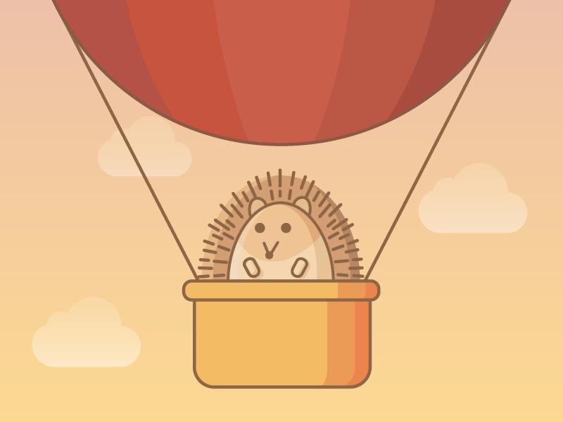 hedgehog's adventure animal spirit friendlydesigncamp friendlydesign hedgehog animals friendlydc illustration