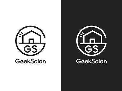 GeekSalon   Logo for a Programming Community programing symbol logotype logo