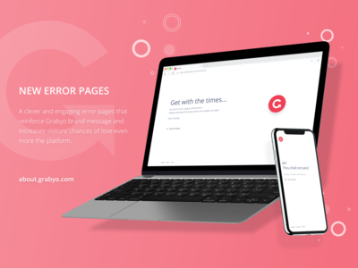 New Error pages