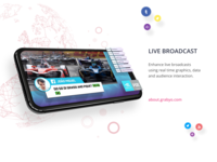 Grabyo Live broadcast, simply faster.