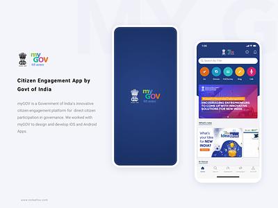 My Gov project clean color typogaphy logo design friendly citizen govt development logo illustration app design ux ui design icons iphone app android ios
