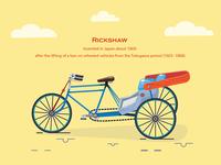 Life On Wheels - Rickshaw