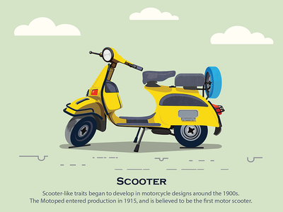 Life On Wheels - Scooter