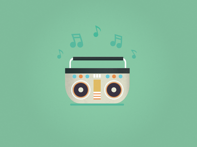 Boombox music player texture icon sound sound player music icon music sign design tape recorder music boombox icon set icons