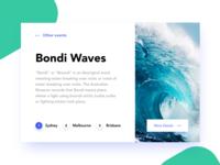 Bondi Waves | Poster | Slider